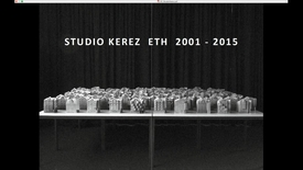 Thumbnail for entry Guest Lecture - Romina - Studio C Kerez