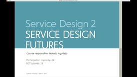 Thumbnail for entry IDE - Service Design