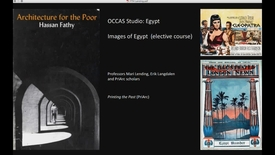 Thumbnail for entry FTH - Occas Studio - Egypt   (Elective) Images of Egypt
