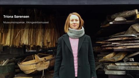 Thumbnail for entry Tríona Sørensen, Vikingeskibsmuseet