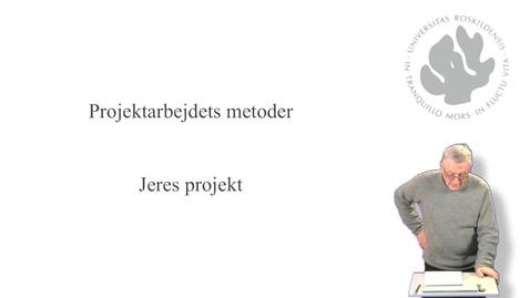 Thumbnail for entry Jørgen Lerche Nielsen om jeres projekt - del 10 af 10