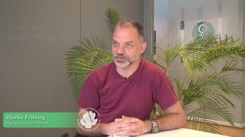 Thumbnail for entry Interview med Bjarke Friborg om Master i Socialt Entreprenørskab