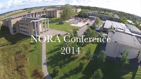 Thumbnail for entry Stemning ved NORA Conference, RUC 2014