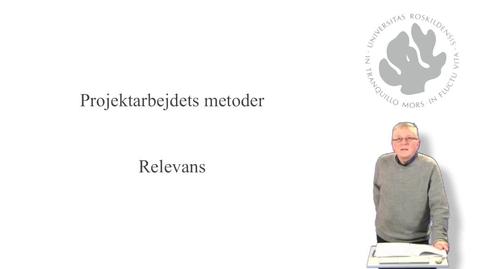 Thumbnail for entry Jørgen Lerche Nielsen om relevans  - del 5 af 10