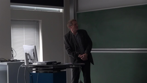 Thumbnail for entry Fratrædelsesforelæsning med Jesper Brandt