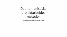 Thumbnail for entry Metodekursus intro - Allan Westerling