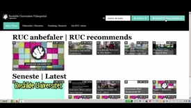 Thumbnail for entry Brugervejledning: Upload video til RUCs videoportal