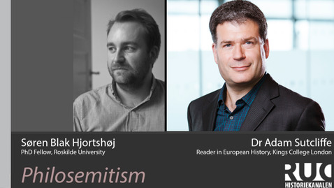Thumbnail for entry Interview with Dr Adam Sutcliffe on Philosemitism