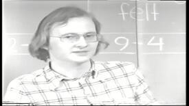 """Thumbnail for entry 1. internt tv udsendelse med orientering om overbygningsuddannelserne. Denne har overskriften: """"De generelle træk"""""""