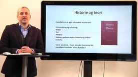 Thumbnail for entry Kursuspræsentantion – Historie og teori