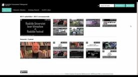 Thumbnail for entry Brugervejledning: Login på RUCs videoportal