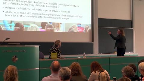 Thumbnail for entry Børns fælles liv i skolen - perspektiver på inklusion -  Lærke Testmann