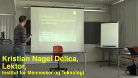 Thumbnail for entry Kristian Nagel Delica; Pædagogisk Torsdag: Teknologier, der understøtter læring i undervisning og vejledning.