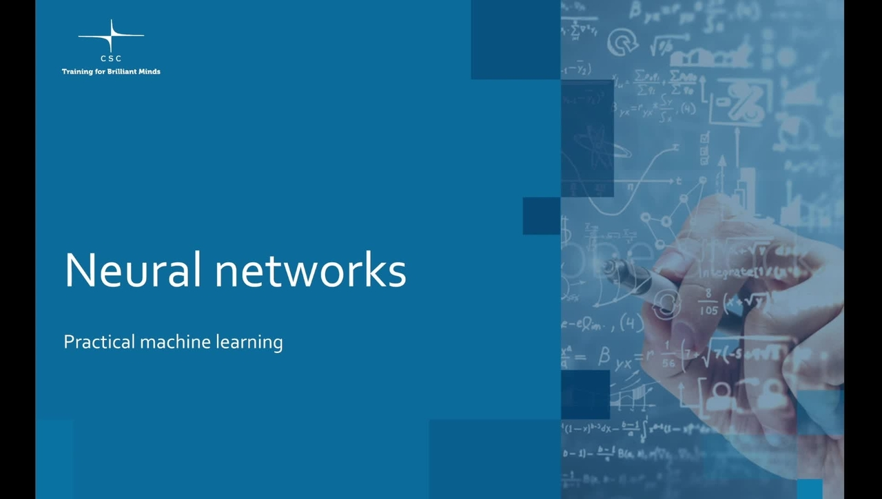 Video 10 – Neural networks.mov