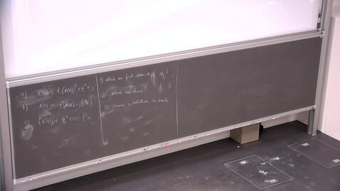 Thumbnail for entry Week 9 Long Day: Linear First-Order Differential Equations part 2