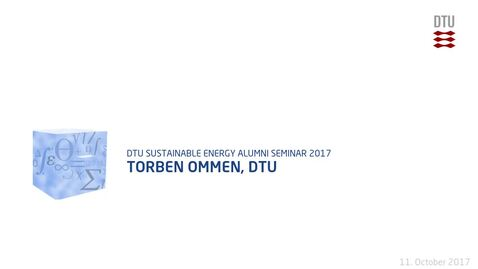 Thumbnail for entry Torben Ommen, DTU