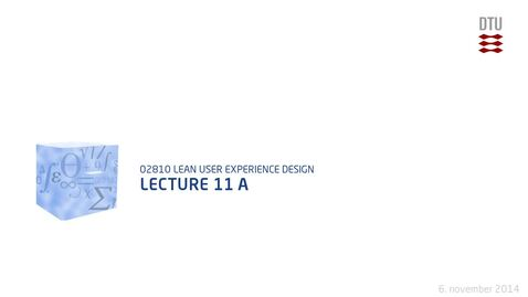 Thumbnail for entry Lecture 11 A