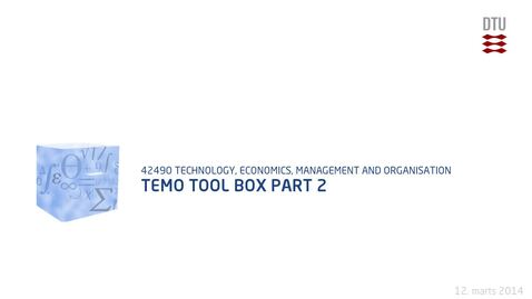 Thumbnail for entry Temo Tool Box Part 2