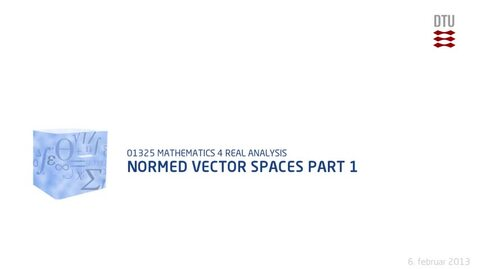 Thumbnail for entry Normed Vector Spaces Part 1 (480p)