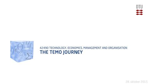 Thumbnail for entry The TEMO Journey