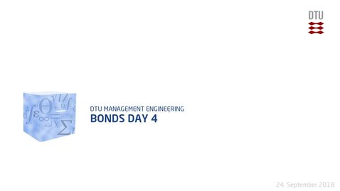Thumbnail for entry Bonds Day 4