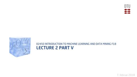 Thumbnail for entry Lecture 2 part V