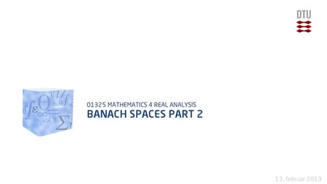 Thumbnail for entry Banach Spaces part 2 (480p)