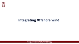 Thumbnail for entry Integrating Offshore Wind