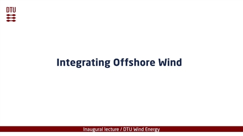 Integrating Offshore Wind