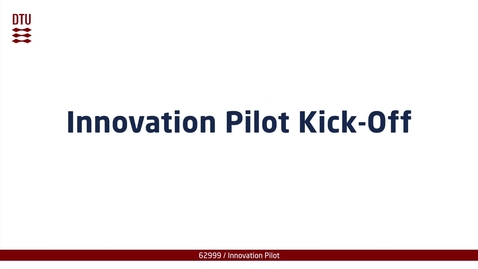 Thumbnail for entry Innovation Pilot Kick-Off part 3