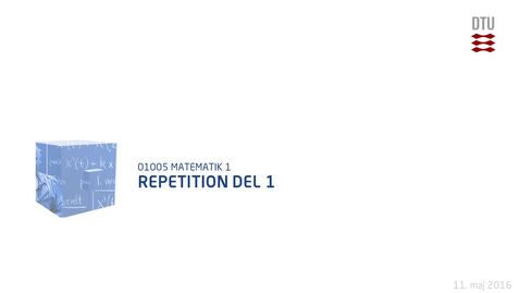Thumbnail for entry Repetition Del 1