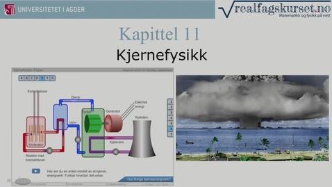 Thumbnail for entry Kapittel 11 Kjernefysikk teori