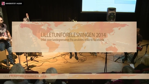 Thumbnail for entry Lilletunforelesningen 2014