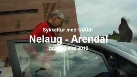 Thumbnail for entry UiA BIL - Sykkeltur fra Nelaug til Arendal