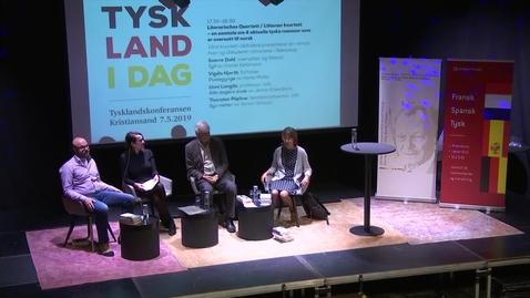 Thumbnail for entry «Literarisches Quartett»-«Litterær kvartett» – en samtale om 4 aktuelle tyske romaner som er oversatt til norsk