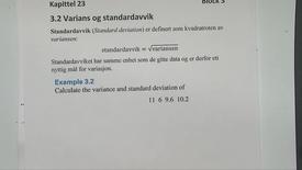 Thumbnail for entry Kapittel 23 3.2-1 Standardavvik