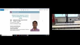 Thumbnail for entry Debasish Ghose_ phd defense 1 - 5/7/2019