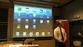 Thumbnail for entry Frank Reichert - iPad-demonstrasjon: Hva nå?