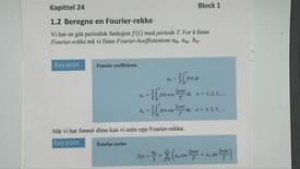 Thumbnail for entry Kapittel 24 1.2 Beregne en Fourier-rekke