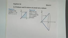 Thumbnail for entry Kapittel 18 2.2 Volum - dreie om x-aksen