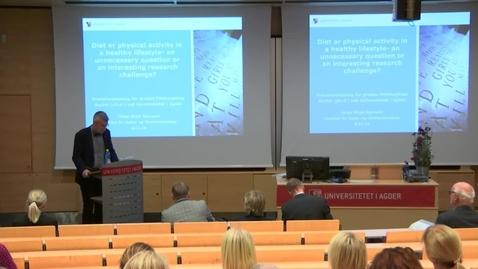 Thumbnail for entry Helga Birgit Bjørnarå - Prøveforelesning 6 des 2016