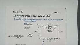 Thumbnail for entry Kapittel 21 1.3 Plotting funksjoner av to variable