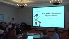 Thumbnail for entry 8 Programmering i Pyton del-45 - med Cathrine Tellefsen og Knut Mørken