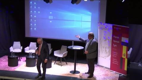 Thumbnail for entry Samtale om norsk-tysk næringslivssamarbeid med fokus på forbindelsene mellom Sørlandet og Tyskland