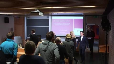 Thumbnail for entry Martin Kjeøen Erikstad - Disputas, 2019-02-12 - Del-1