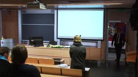 Thumbnail for entry Martin Kjeøen Erikstad - Disputas - 2019-02-12 - Del-2