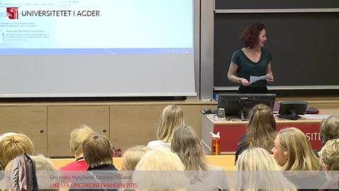 Thumbnail for entry 4 - STA-leder Silje W. Hammerstad og nestleder Helene Vedal