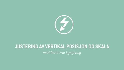 Thumbnail for entry Oscilloskop 06 - Justering av vertikal posisjon og skala
