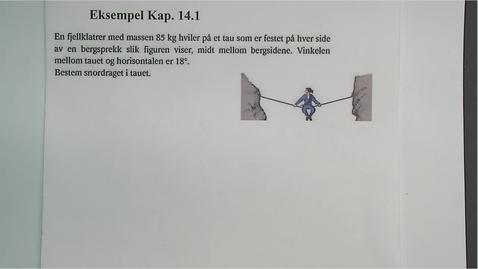 Thumbnail for entry Eksempel 14.1