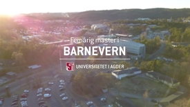 Thumbnail for entry Norges første femårig master i barnevern